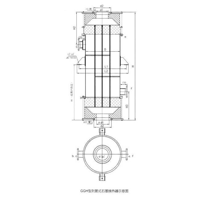 GGH新型列管式石墨换热器