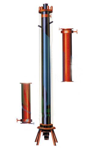 YKSL型圆块式三合一石墨盐酸合成炉